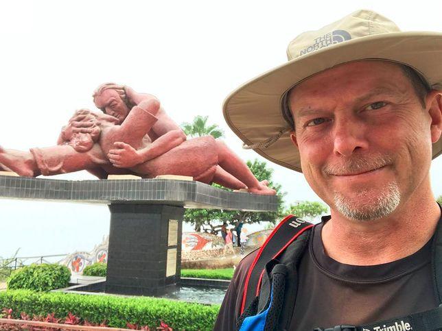 47-latek zwolnił się z pracy, sprzedał dobytek i pojechał w podróż, której nie zapomni