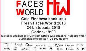 Gala finałowa Fresh Faces World już 24 listopada!