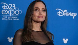 Angelina Jolie w Disneylandzie