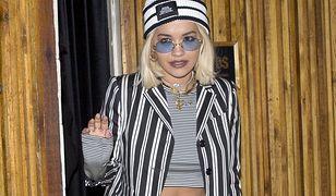 Rita Ora w nieprzemyślanej stylizacji