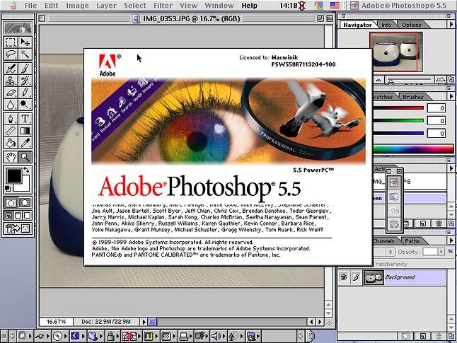 Na komputerach Mac królował Photoshop. Nie ważne, czy zajmowaliśmy się profesjonalną grafiką, czy tylko poprawialiśmy zdjęcia dla cioci. Photoshop był obowiązkowy.