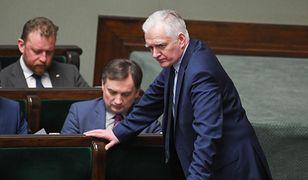 Jarosław Gowin i Zbigniew Ziobro. Ustawa dyscyplinująca zostanie przyjęta przez Sejm.