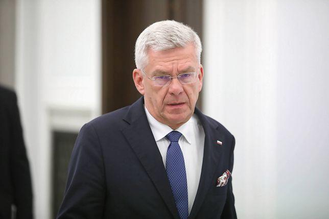 Stanisław Karczewski odrzucił zarzuty ws. braku flag UE w Senacie