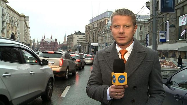 """Andrzej Zaucha jest korespondentem """"Faktów"""" od 2007 roku"""