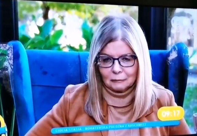 Maria Stachurska nie mogła opanować łez