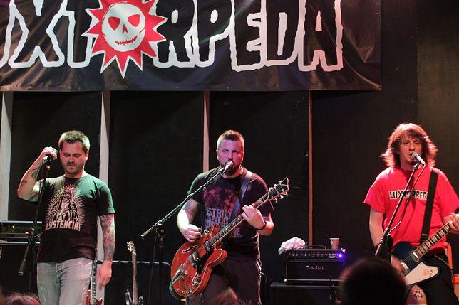 "Frontman Luxtorpedy, ""Litza"" trafił do szpitala"