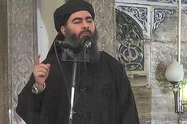 Duchowy przywódca ISIS Abu Bakr al-Baghdadi