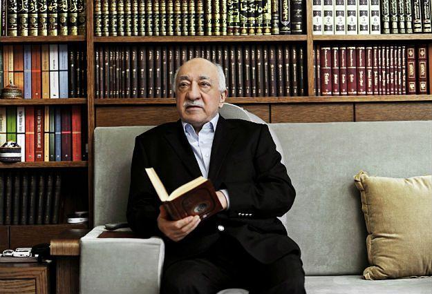 Fethullah Gulen w swojej rezydencji w Pennsylwanii, 2014 r.