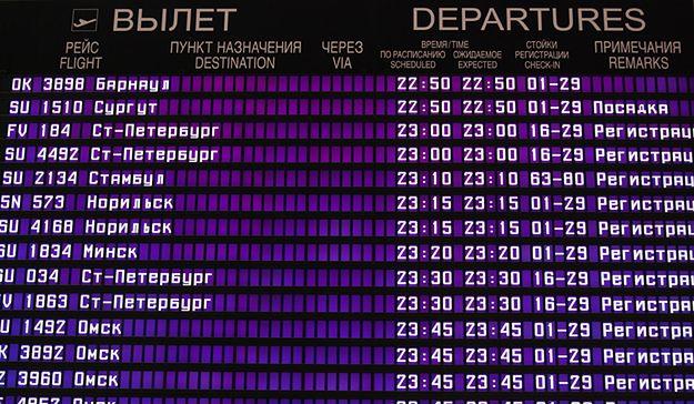 Rosja zawiesza pasażerskie połączenia lotnicze z Egiptem