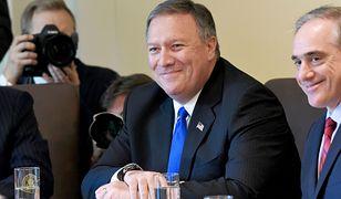 Sekretarz Stanu USA Mike Pompeo