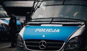 Policja zatrzymała podejrzanego mężczyznę