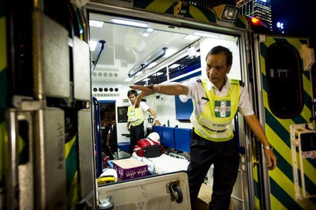 Katastrofa autokaru w Chinach