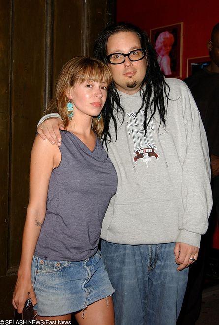 Jonathan Davis, lider zespołu Korn, wraz ze swoją żona Deven Davis
