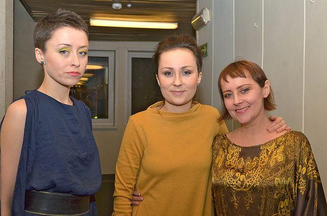 Natalia Przybysz z siostrą Pauliną i mamą