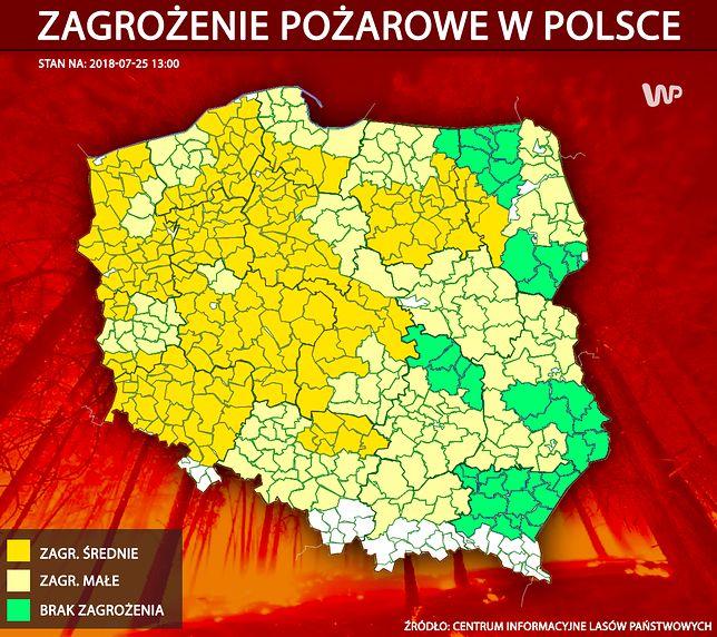 Na Polskę rzucona płachta upałów. Rekord ciepła osiągalny