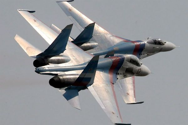 Myśliwiec Su-27