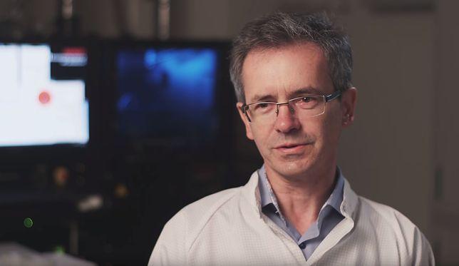 Dr Włodzimierz Strupiński, były już szef Instytutu Technologii Materiałów Elektronicznych.