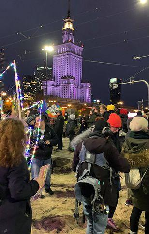 Strajk Kobiet. Protest w Warszawie