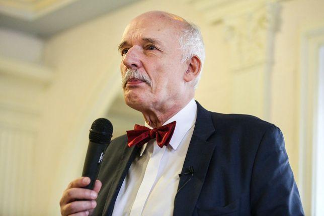 Janusz Korwin-Mikke pamięta o matce