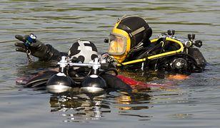Akcja służb na jeziorze Sarbsko. RMF FM: do wody spadł niewielki samolot