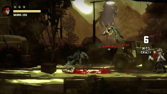Shank i jego towarzyszka - krew