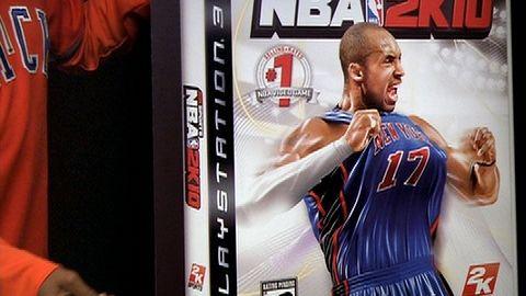 Kobe na okładce NBA 2K10