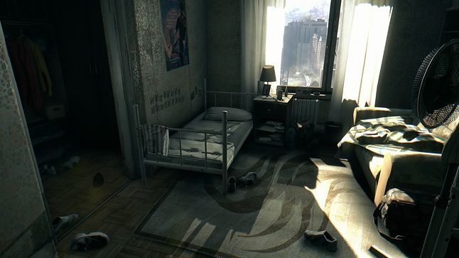 wnętrza w grze zostały starannie wykonane
