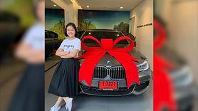 12-letnia blogerka kupiła sobie na urodziny BMW (WIDEO)