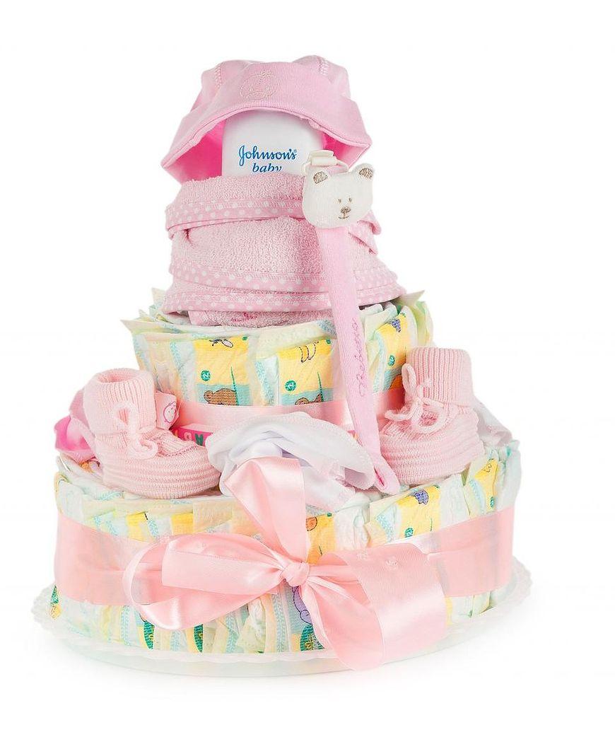 Można kupić gotowe torty z pampersów