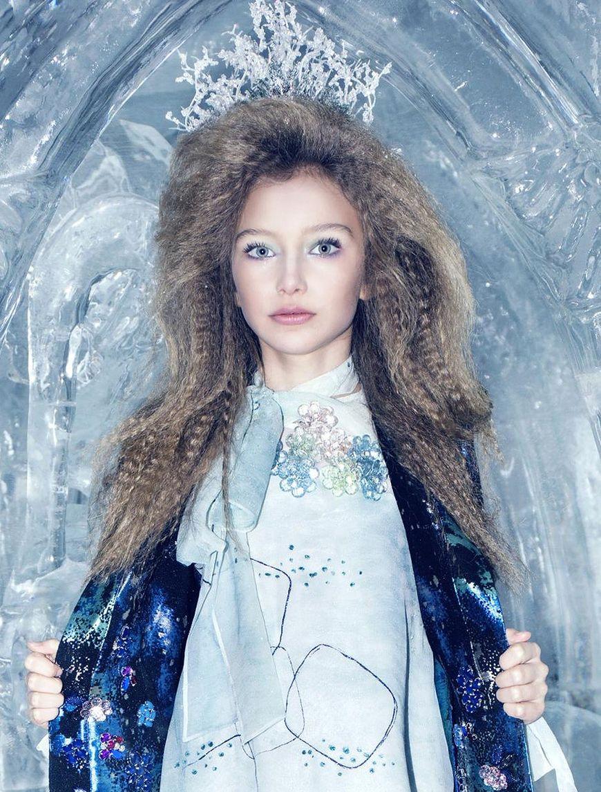 Alexandra Lenarchyk jest bardzo znaną modelką dziecięcą w USA