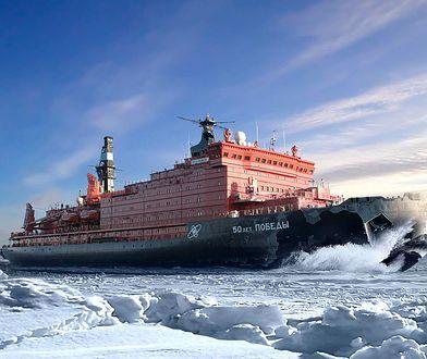50 Let Pobedy - największy lodołamacz świata. Cud rosyjskich inżynierów