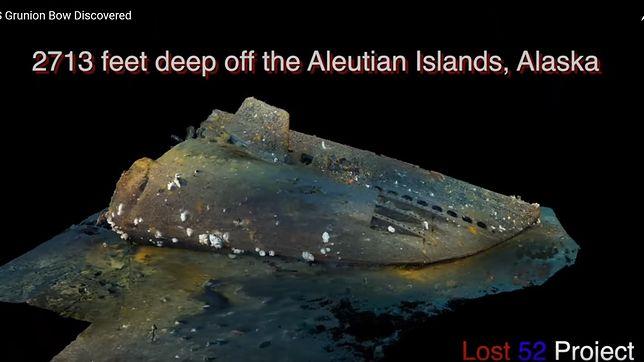 II wojna światowa. Zaginiony okręt podwodny odnaleziono po 80 latach