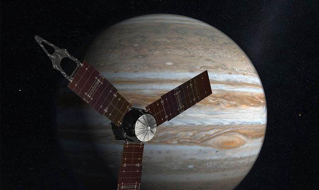 Jowisz na niezwykłych zdjęciach. Sonda Juno kolejny raz zbliżyła się do planety