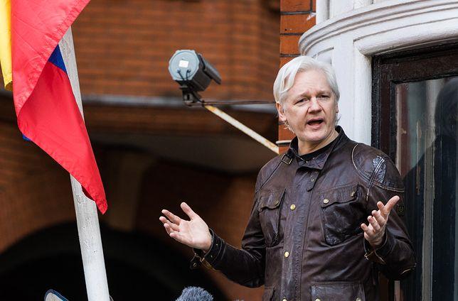 Założyciel WikiLeaks Julian Assange stracił azyl, został aresztowany w Londynie