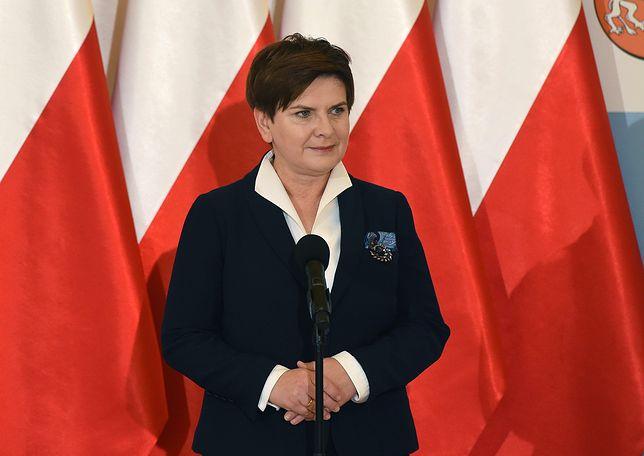 Beata Szydło chce sprowadzić do Polski pomnik Jana Pawła II