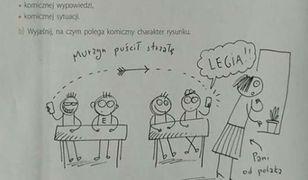 Zadanie zamieszczone w podręczniku do języka polskiego dla 5. klasy szkoły podstawowej.