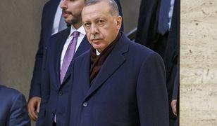 Prezydent Turcji Recep Tayyip Erdogan.