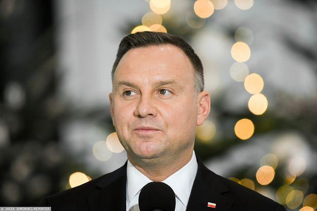 Andrzej Duda złożył Polakom noworoczne życzenia