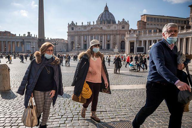 Koronawirus we Włoszech. Rośnie liczba zakażonych. Władze opublikowały kolejny bilans