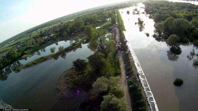 Rzeka Wisła w rejonie Łomianek (woj. mazowieckie) - zdj. arch.