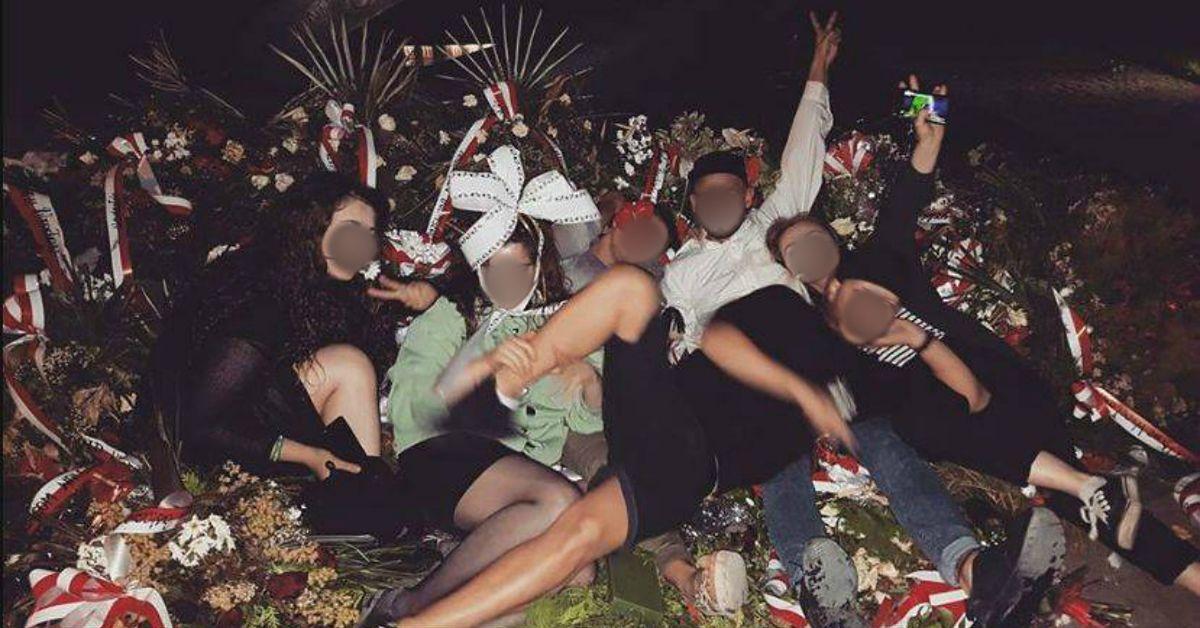 Impreza na pomniku rotmistrza Pileckiego. Sieć oburzona głupim wybrykiem
