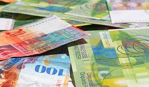 Kurs franka w Polsce najniższy od stycznia