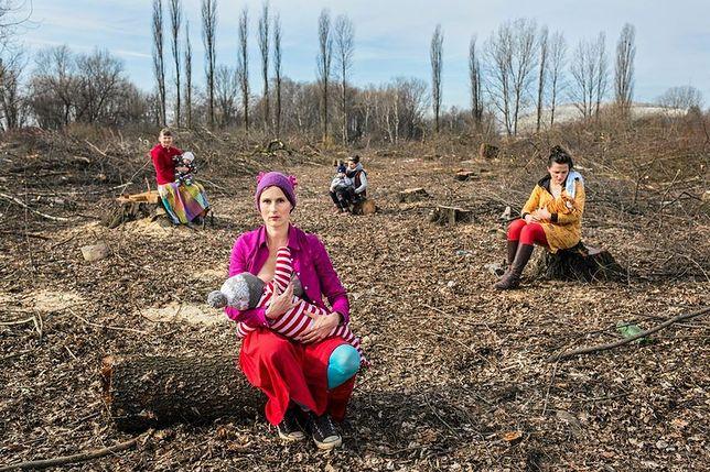 Matki Polki na wyrębie. Nakarmią dzieci w ramach protestu