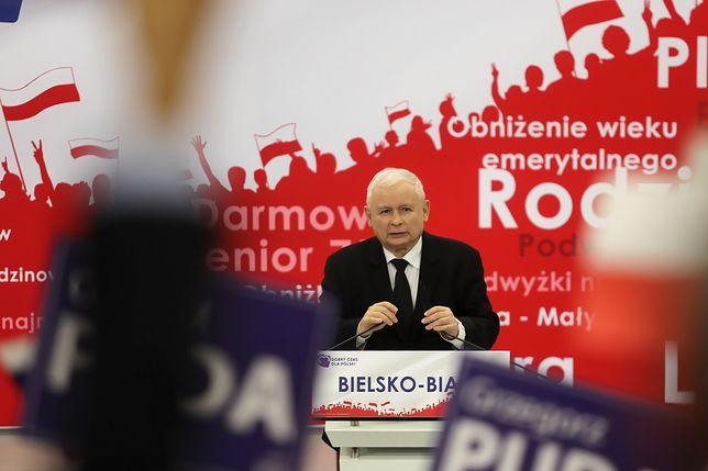 Bielsko-Biała. Jarosław Kaczyński uderzył w Konfederację