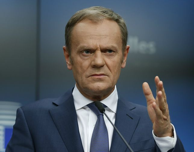 Były szef rządu PO-PSL Donald Tusk