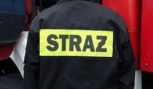 Kraków. Pożar w hucie Arcelor Mittal. Ogromny słup dymu
