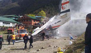 Nepal: wypadek samolotu w rejonie Everestu. Są ofiary