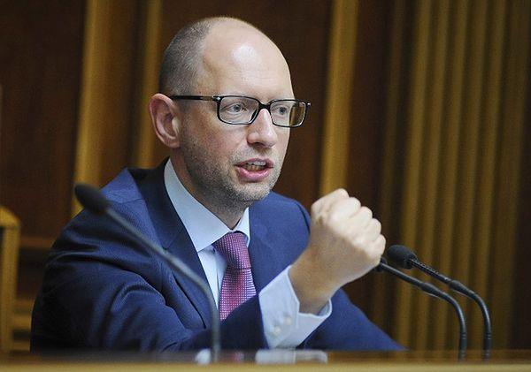 Arsenij Jaceniuk idzie na wybory na czele nowej partii Front Ludowy