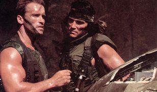 Arnold Schwarzenegger i Sonny Landham