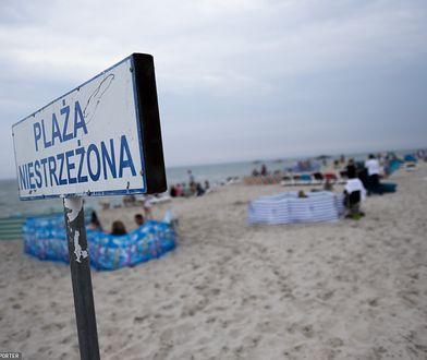 Koronawirus. Polska. Nieczynne kąpielisko w Jastarni. Zakażeni ratownicy